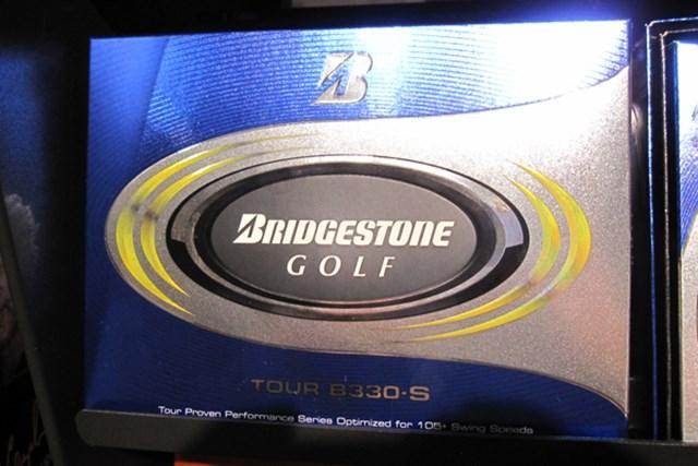 PGAツアー選手の使用率が増えている「ブリヂストンゴルフ TOUR B330 S」ボール