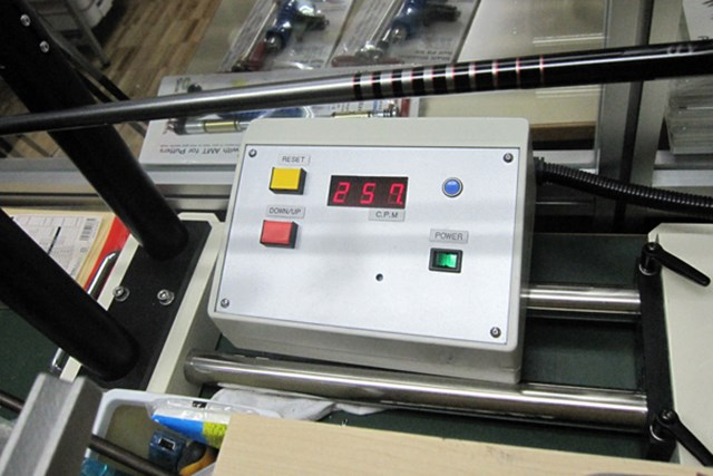 純正シャフトの「ツアーデザイン B11-01w」(S)の振動数は257cpm。純正品にしてはハードな設計で、ある程度のパワーが求められる