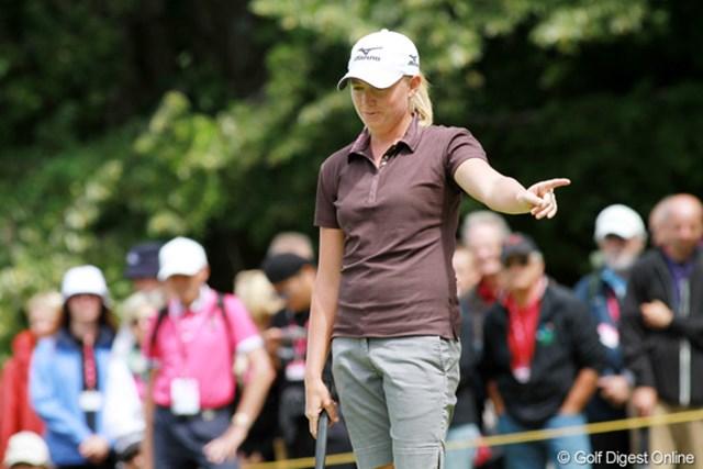 最終日の「70」は若干の心残りか。次週の全英女子オープンでの活躍を誓った