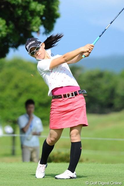 2011年 国内女子ツアー プロテスト最終日 香妻琴乃 注目アマの1人、香妻琴乃は13位タイで貫禄の予選突破を果たした