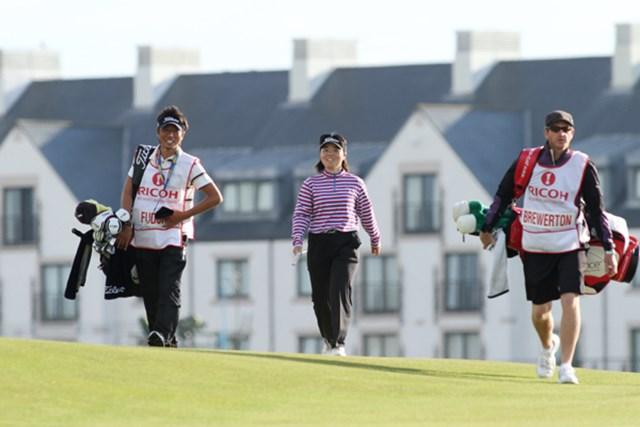 終盤までは良いゴルフを続け笑顔も見られた不動だったが・・・