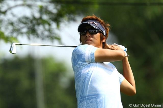2011年 サン・クロレラ クラシック 2日目 J.チョイ やや出入りの激しいゴルフでしたが、今日も3つスコアを伸ばしました。