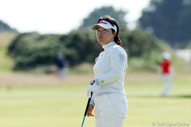 「全部ダメでした」。相性の良い全英女子オープンだったが、不動はあえなく予選落ち
