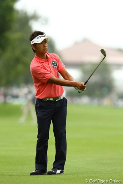 今日もスコアを落とし、藤田さんらしからぬゴルフ。海外遠征疲れもありそうですね。