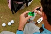 2011年 全英リコー女子オープン 3日目 準備中