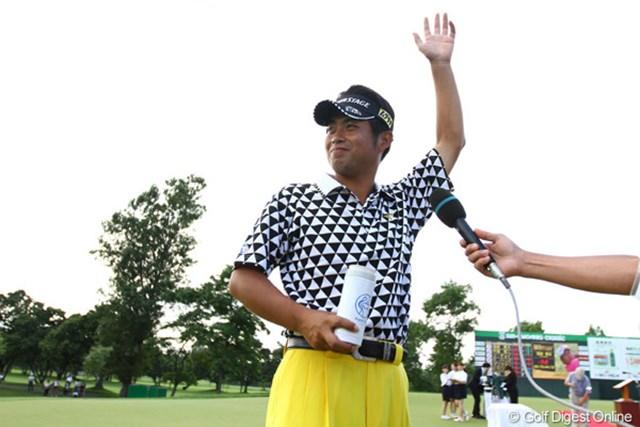 2011年 サン・クロレラ クラシック 最終日 池田勇太 初の賞金王戴冠へ向け今季初勝利をマークした池田勇太。後半戦も大きな目標へ向け戦い続ける