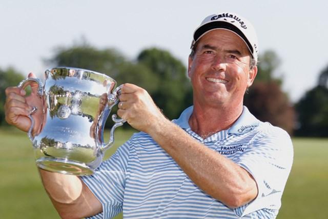 チャンピオンズツアー初タイトルをメジャーで飾ったO.ブラウン(Gregory Shamus/Getty Images)