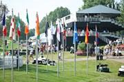 2011年 WGCブリヂストンインビテーショナル 3日目 フラッグ