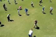 2011年 全米プロゴルフ選手権 事前情報 練習グリーン