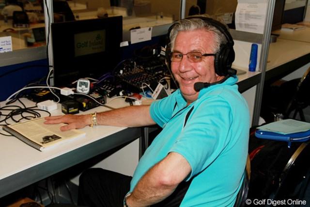 2011年 全米プロゴルフ選手権 ボブ・ブブカ氏 ボブ・ブブカ/年齢は非公表。「先は長くない」とのこと。過去に100試合以上のメジャー大会を取材。米国、豪州など英語圏で放送中の「Voice of world golf radio」のリポーター。ちなみに棒高跳びで有名なセルゲイ・ブブカ氏とはいとこの関係。