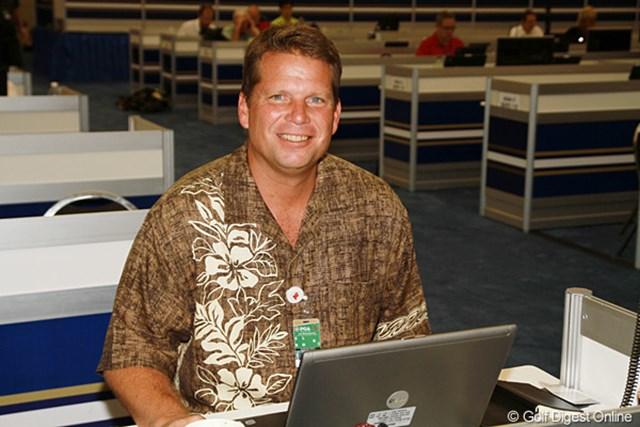 ダグ・ファーガソン/47歳。AP通信で現在までに15年間ゴルフ担当を務めるPGAツアーきっての名物ジャーナリスト。