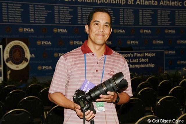 2011年 全米プロゴルフ選手権 ジョン・ダニエル・クバン氏 ジョン・ダニエル・クバン/米国ゴルフダイジェストに写真を提供するゴルフフォトグラファー。9年のキャリアを持つ。