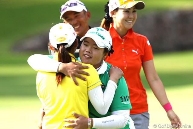 2011年 NEC軽井沢72ゴルフトーナメント 初日 アン・ソンジュ 時差ボケも抜けていないというアン・ソンジュが上々のスタート