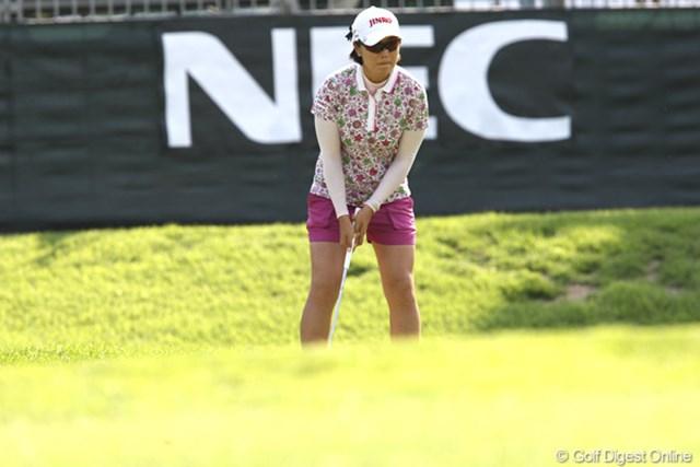 2011年 NEC軽井沢72ゴルフトーナメント 初日 全美貞 3アンダー5位タイ。なんだかんだ上位に入ってきますね