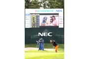2011年 NEC軽井沢72ゴルフトーナメント 初日 福嶋晃子