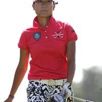 木戸ちゃん?スタイルは本当にそっくりですが、こちらはアマチュア出場している妹の侑来ちゃん。97位タイ 2011年 NEC軽井沢72ゴルフトーナメント 初日 木戸侑来