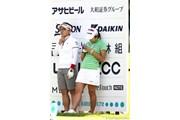 2011年 NEC軽井沢72ゴルフトーナメント 初日 有村智恵&イ・ボミ
