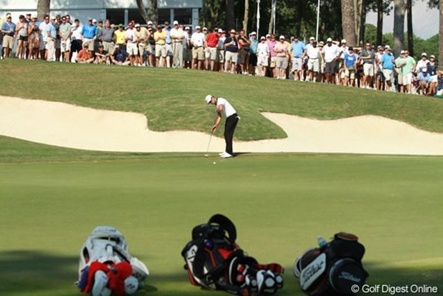 2011年 全米プロゴルフ選手権 2日目 アダム・スコット 2週連続で優勝争いに絡んできた。このままの勢いでメジャー制覇なるか!?
