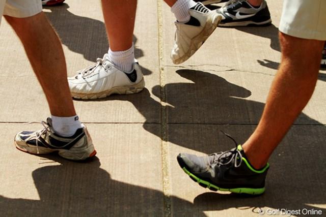 2011年 全米プロゴルフ選手権 2日目 フットトラフィック 英語で歩行者のことを意味する。短パンにスニーカーがスタンダード