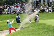 2011年 NEC軽井沢72ゴルフトーナメント 2日目 横峯さくら