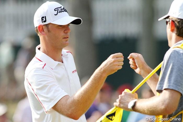 カリフォルニア州で育ったブレンダン・スティールは少年時代は周りに練習場すらない環境で育ったとか 2011年 全米プロゴルフ選手権 3日目 ブレンダン・スティール