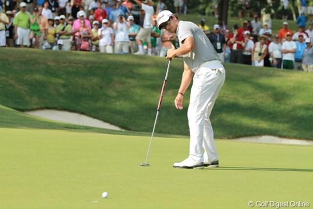 2011年 全米プロゴルフ選手権 3日目 アダム・スコット アダムスコットは3日間を69-69-70と静かに上位をキープして最終日へ