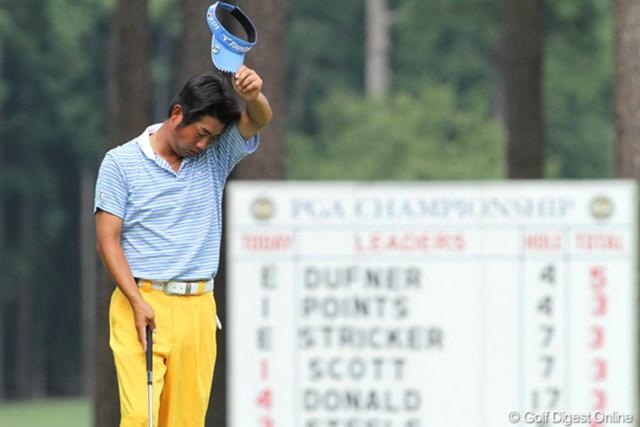 2011年 全米プロゴルフ選手権 3日目 池田勇太 日本勢の最後の砦、池田勇太は連日の暑さに「頭も疲れてくる」