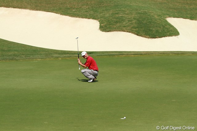 2011年 全米プロゴルフ選手権 3日目 入るか? あとひと転がりぃぃぃッ!