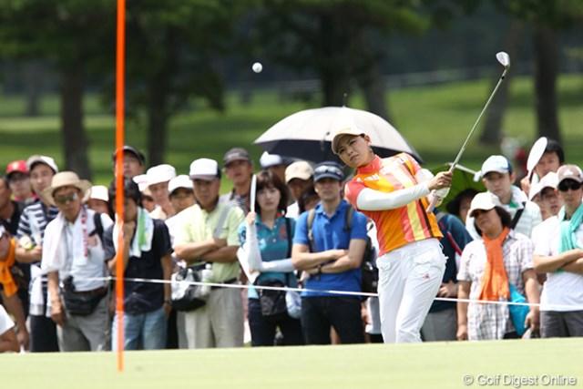 2011年 NEC軽井沢72ゴルフトーナメント 最終日  横峯さくら スタートで躓き優勝争いから脱落してしまった横峯さくら