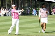 2011年 NEC軽井沢72ゴルフトーナメント 最終日 福嶋晃子、アン・ソンジュ