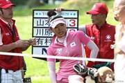 2011年 NEC軽井沢72ゴルフトーナメント 最終日 有村智恵