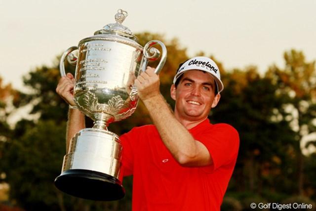 2011年 全米プロゴルフ選手権 最終日 キーガン・ブラッドリー プレーオフを制し、メジャー初優勝を挙げたキーガン・ブラッドリー