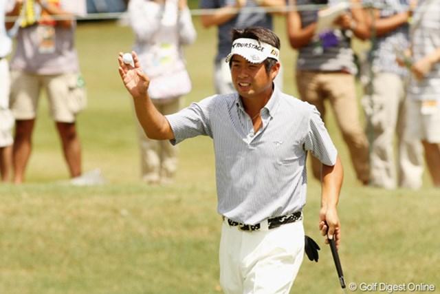 2011年 全米プロゴルフ選手権 最終日 池田勇太 日本勢でただひとり決勝ラウンドでも奮闘した池田勇太は、自分のプレーを強く反省