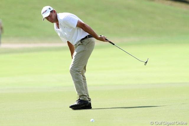 2011年 全米プロゴルフ選手権 最終日 アンダース・ハンセン 5バーディ1ボギーという好ラウンドで単独3位となった