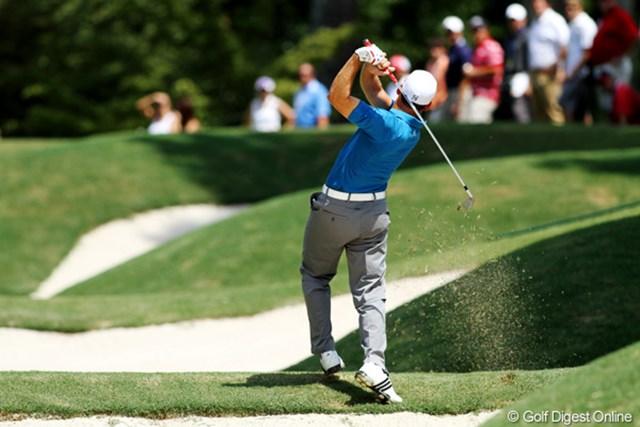 2011年 全米プロゴルフ選手権 最終日 セルヒオ・ガルシア 初日以外は毎日1アンダーでプレーし、12位タイでフィニッシュ。安定感が出てきた