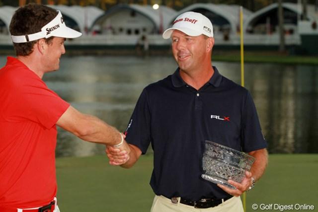 2011年 全米プロゴルフ選手権 最終日 マイク・スモール クラブプロとしてただ一人予選を通過した。イリノイ大学ゴルフコーチを務めている