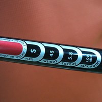 純正のシャフトSはトルク5.8と多く、切り返しでシャフトのしなりが大きい マーク試打 アキラプロダクツ ADR ドライバー(2007年モデル) NO.4