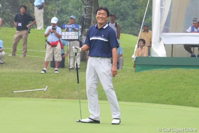 2011年 ファンケルクラシック 初日 羽川豊 開幕戦から続く勢いそのままに、羽川豊が好スタート