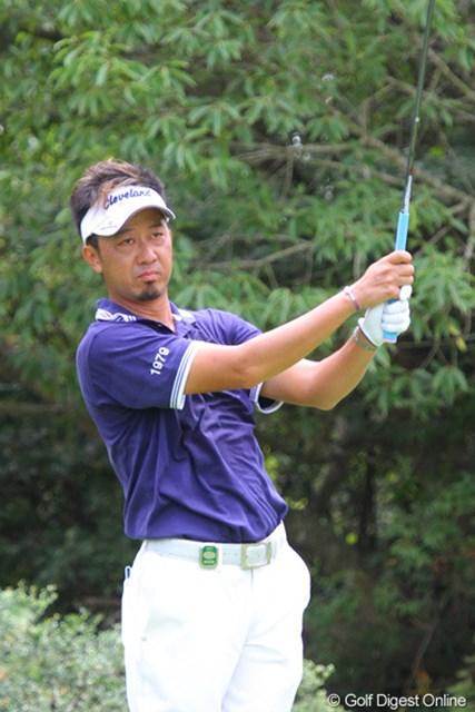 2011年 関西オープンゴルフ選手権競技 2日目 星野英正 小野GCでの日本アマで優勝経験を持つ星野英正