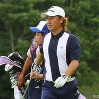 この日も2ストローク伸ばして4位タイに浮上した吉永智一 2011年 関西オープンゴルフ選手権競技 2日目 吉永智一