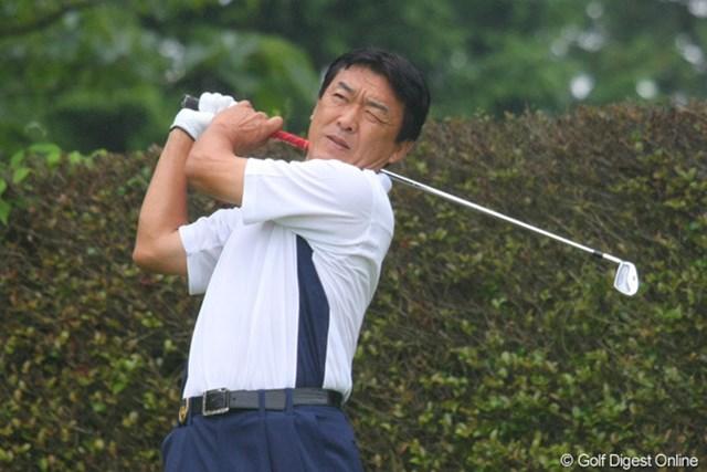2011年 ファンケルクラシック 2日目 羽川豊 羽川豊「明日は首位にもっとプレッシャーをかけていきたい」と2戦連続優勝に意欲。