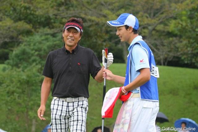 2011年 ファンケルクラシック 2日目 奥田靖己 バーディのあとのこの笑顔