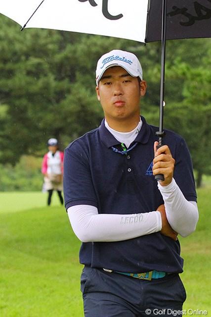 2011年 関西オープンゴルフ選手権競技 最終日 ドンファン 9番の途中で「止めてもいいですか!?」と話しかけてくるドンファン