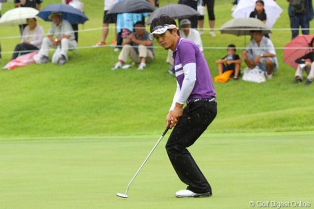 最終日のベストスコア「65」で6位タイに食い込んだ近藤共弘