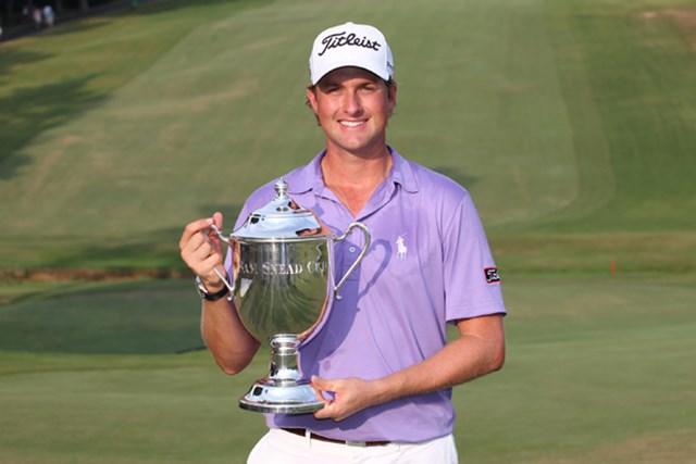 26歳の若手、W.シンプソンがツアー初勝利を飾った (Getty Images/Hunter Martin)