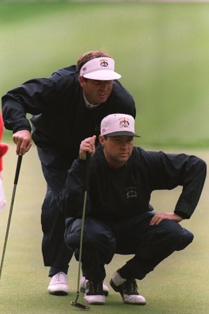 ※写真は1995年「RYDER CUP 」(J.D. Cuban/Getty Images)