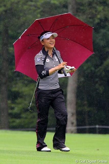 好調の有村智恵が、自身初の2週連続優勝に挑む
