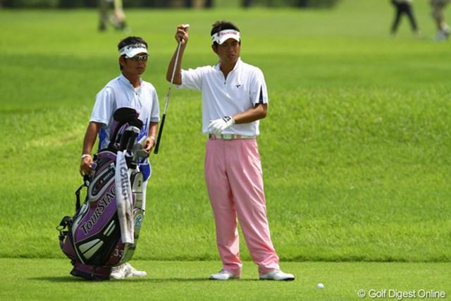 首位に1打差と絶好の位置でスタートした池田勇太「調子はまあまあ。今日は良く頑張れた方」