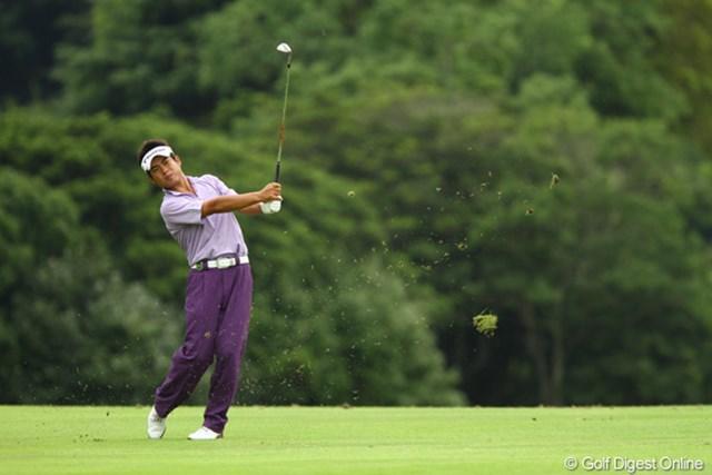 2011年 VanaH杯KBCオーガスタゴルフトーナメント 2日目 池田勇太 今日は2つしかスコアを伸ばせませんでしたが、一昨年の優勝を思えば、まだまだ優勝圏内ですね