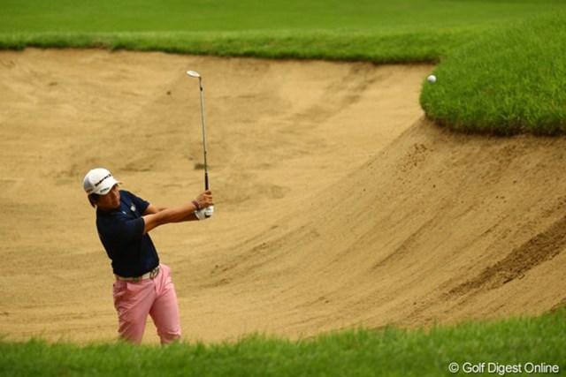 2011年 VanaH杯KBCオーガスタゴルフトーナメント 2日目 藤田寛之 バックナインで何とか盛り返しました